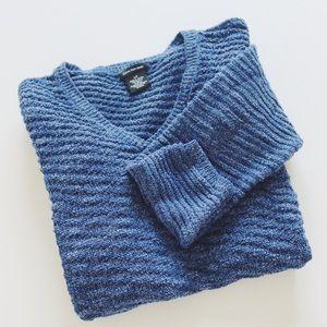 Calvin Klein textured sweater.